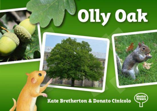Hello Trees, Olly Oak, Oak Trees, Books about Trees, Tree books for children, Kate Bretherton