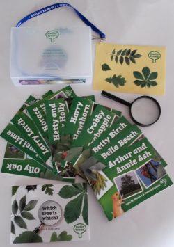 Hello Trees, Explorer Kit, Tree Books for Children, Kate Bretherton