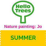 Make a paintbrush and paints from Nature with Jo