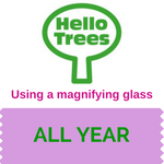 Use a magnifying glass