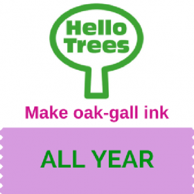 Oak-gall ink