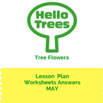 How well did you do in matching trees with their flowers