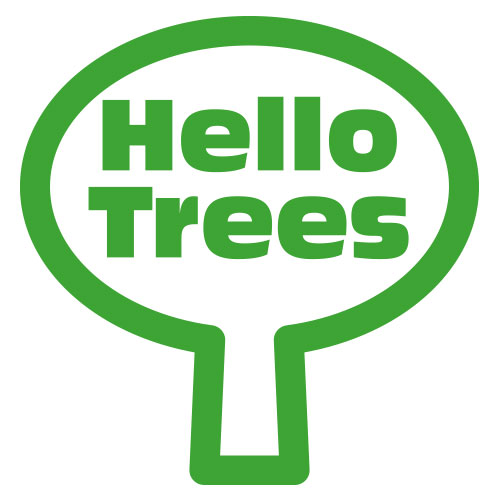 Hello Trees, Logo, Tree Books for Children, Kate Bretherton
