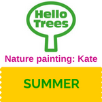 Make a paintbrush and paints from Nature with Kate